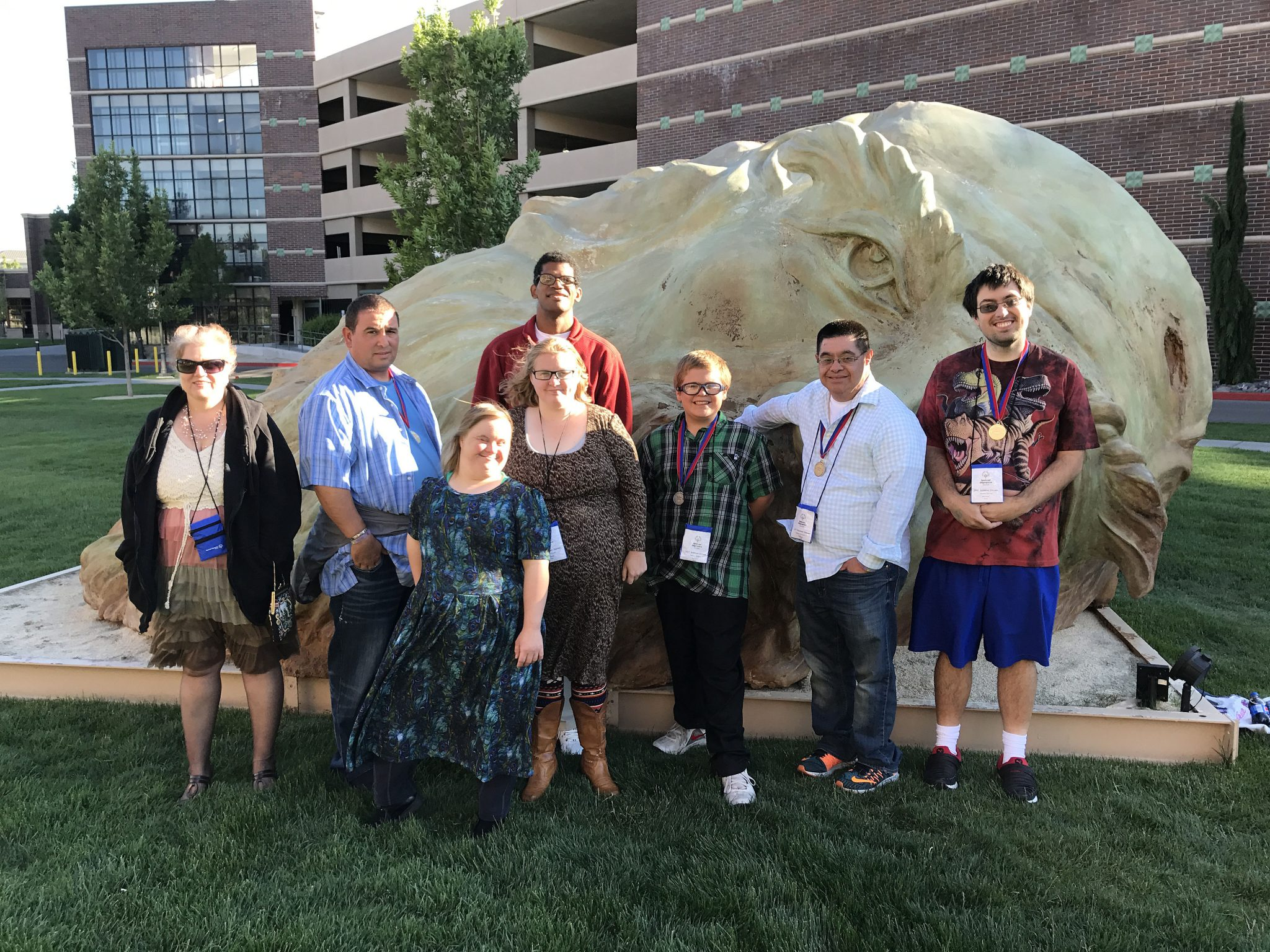Special Olympics competes in Reno