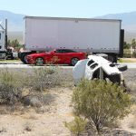 One injured in single vehicle rollover