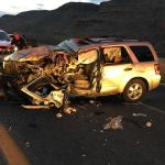 Wrong way driver dies in early morning collision