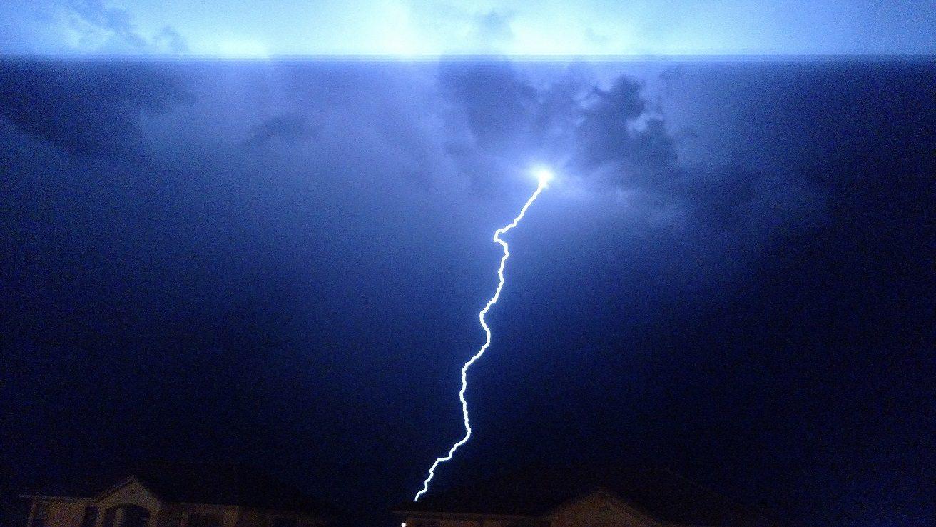Monsoon season kicks off with light show