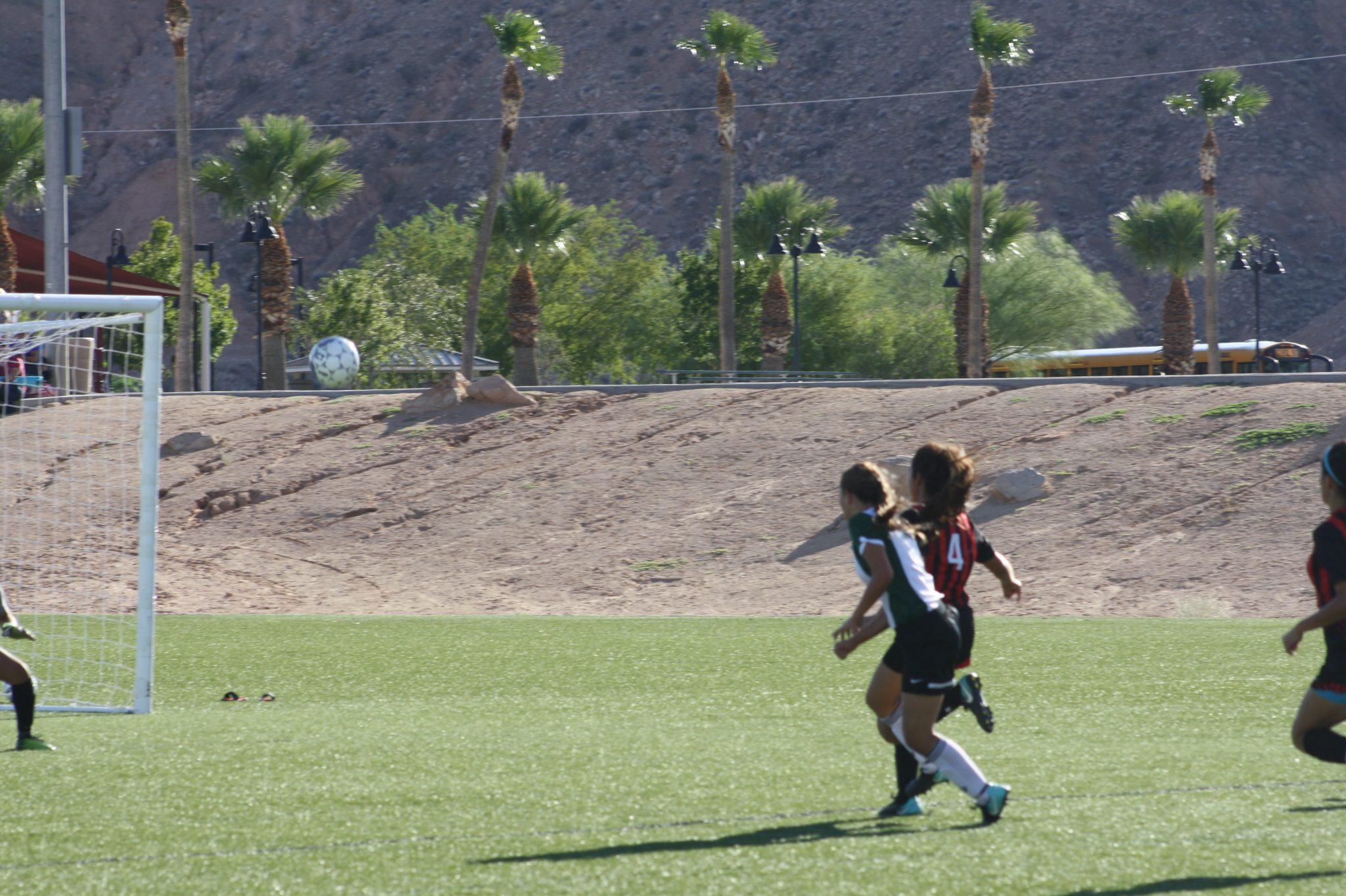 Brito's four goals lead Bulldog soccer gals to 4-2 win over Las Vegas