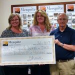 Chamber donates $7500 to Mesquite Works for workforce development