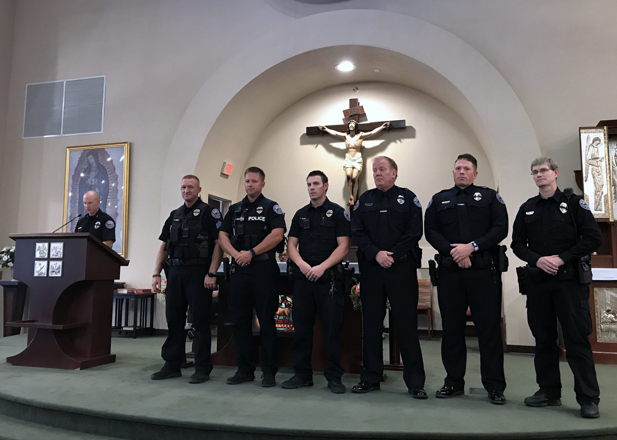 Six Police Officers Honored by Knights of Columbus at Annual First Responders Ceremony