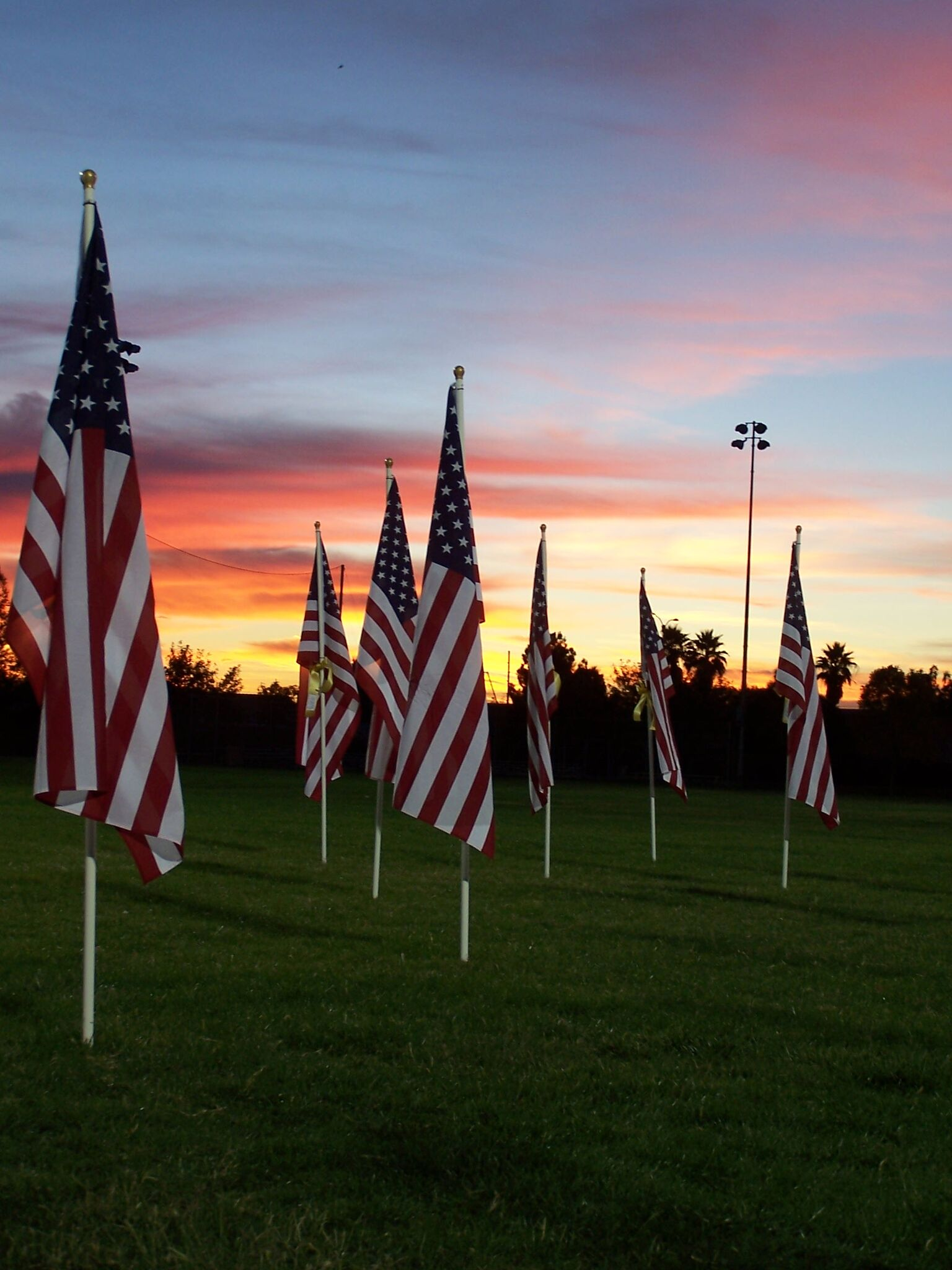 ONE THOUSAND FLAGS OVER MESQUITE