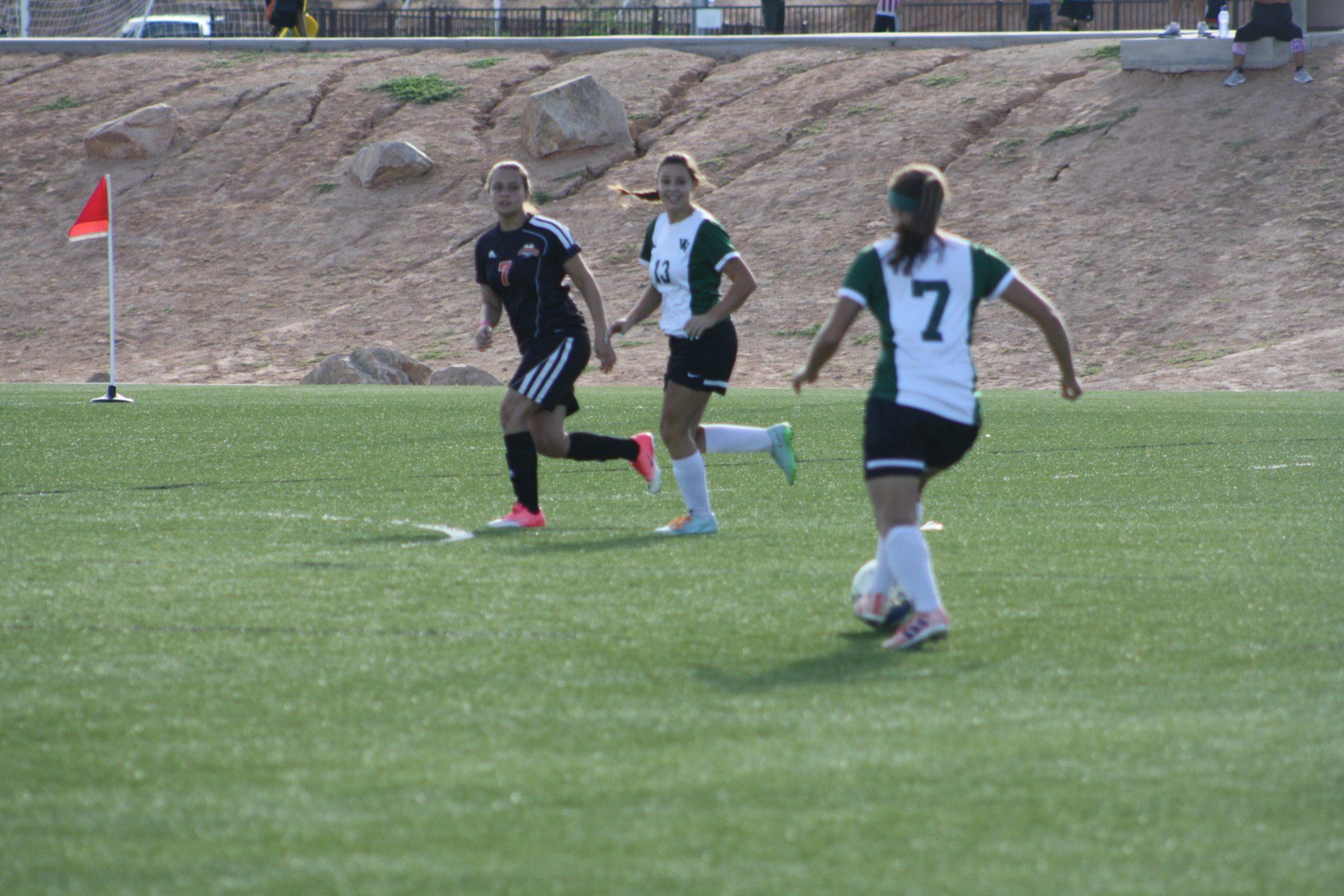 Bulldog soccer gals roll over Cowboys and Jaguars