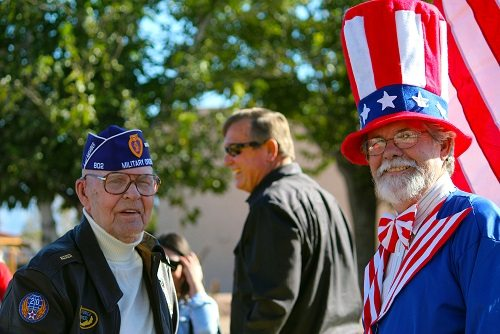 Barquist chosen to be Grand Marshall for Vet's Day Parade