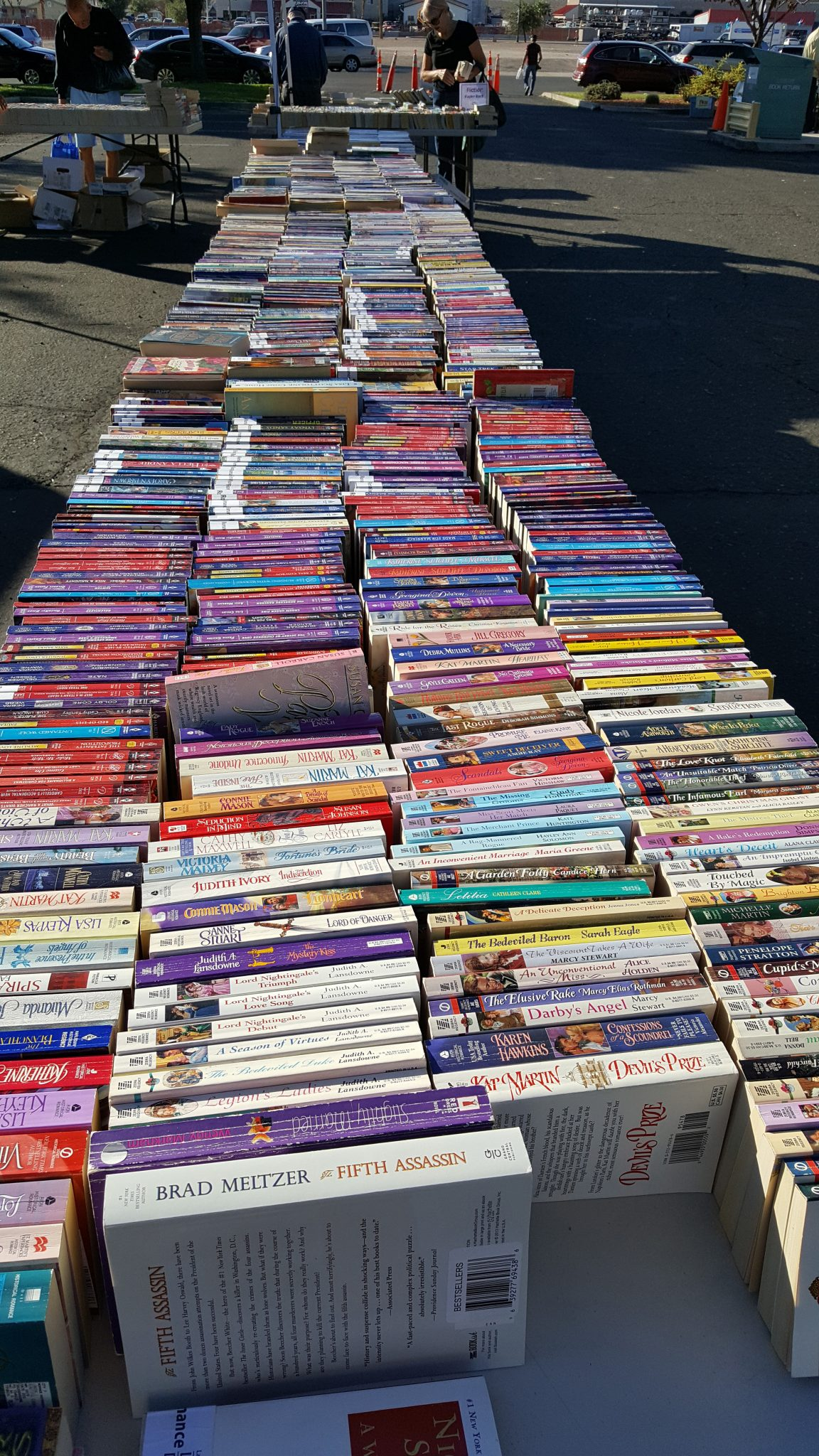 Book Sale at Mesquite Library November 4