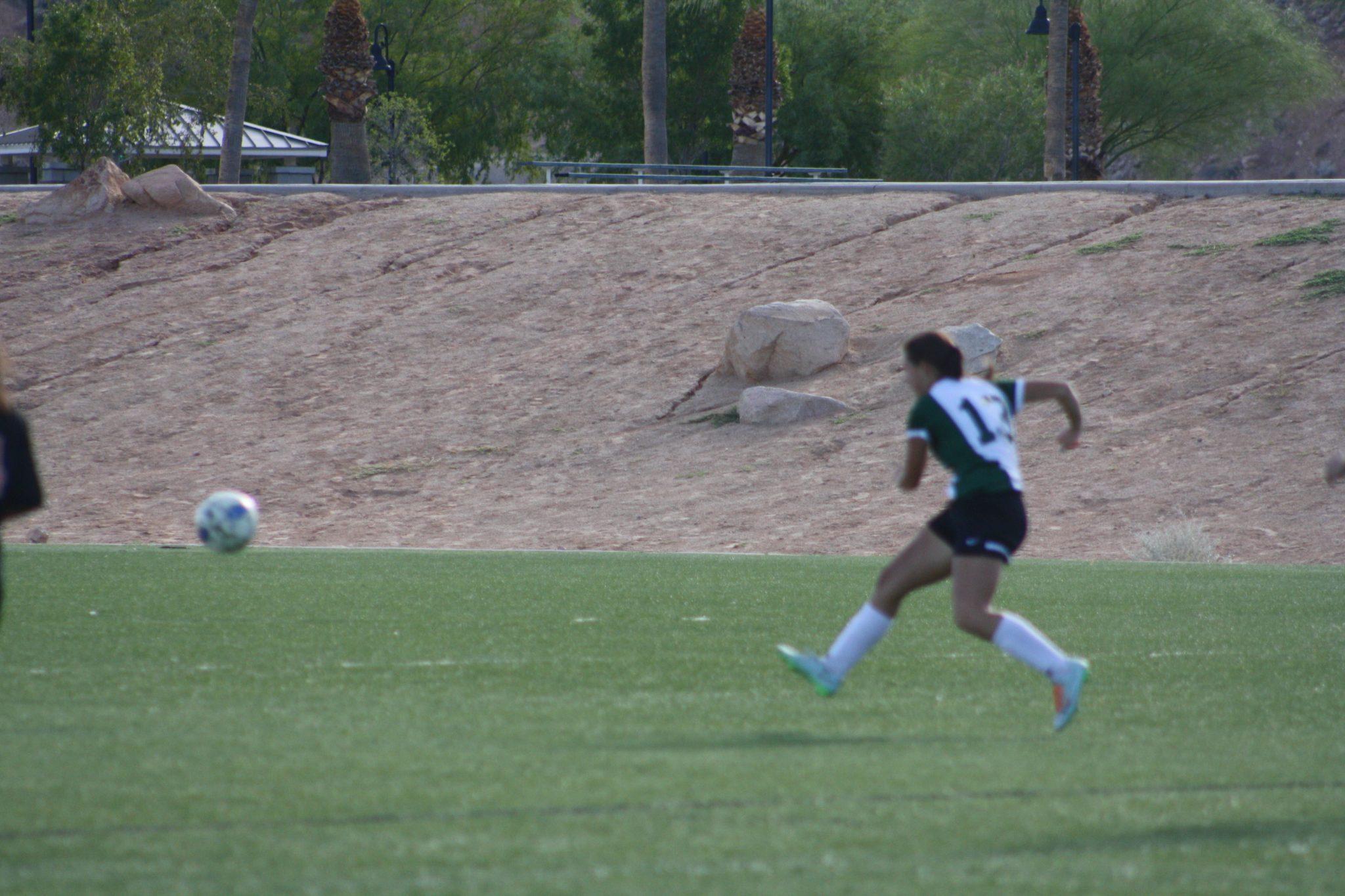 Bulldog soccer gals drop Eagles 4-0
