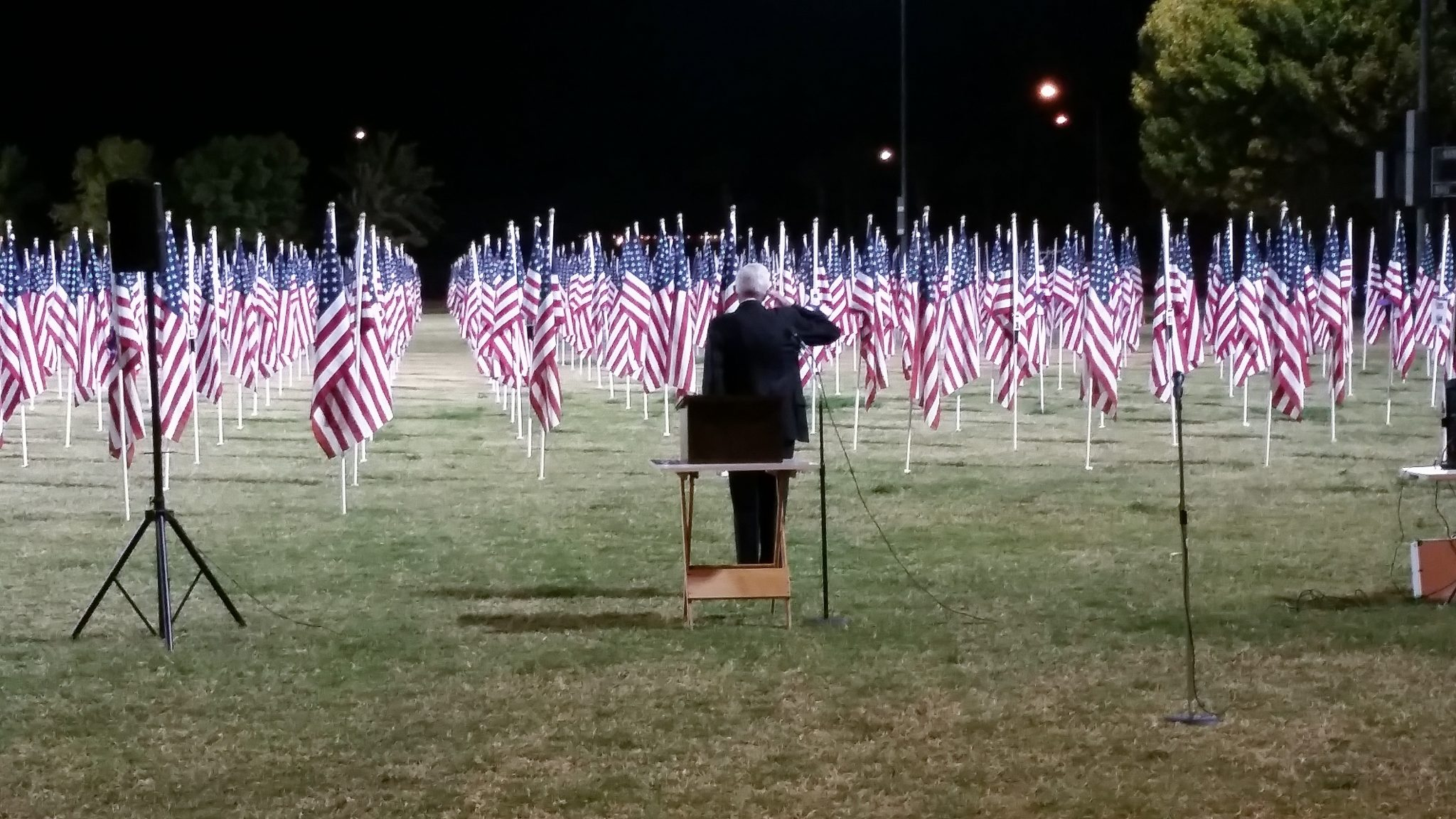 1000 Flags Ceremony Honors Las Vegas Victims