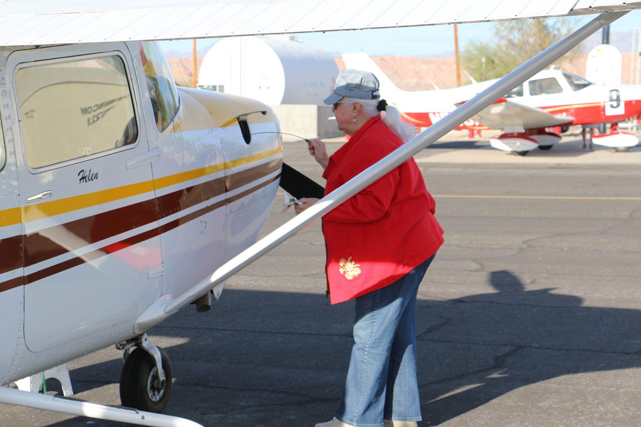 Women pilots dominate Mesquite skies