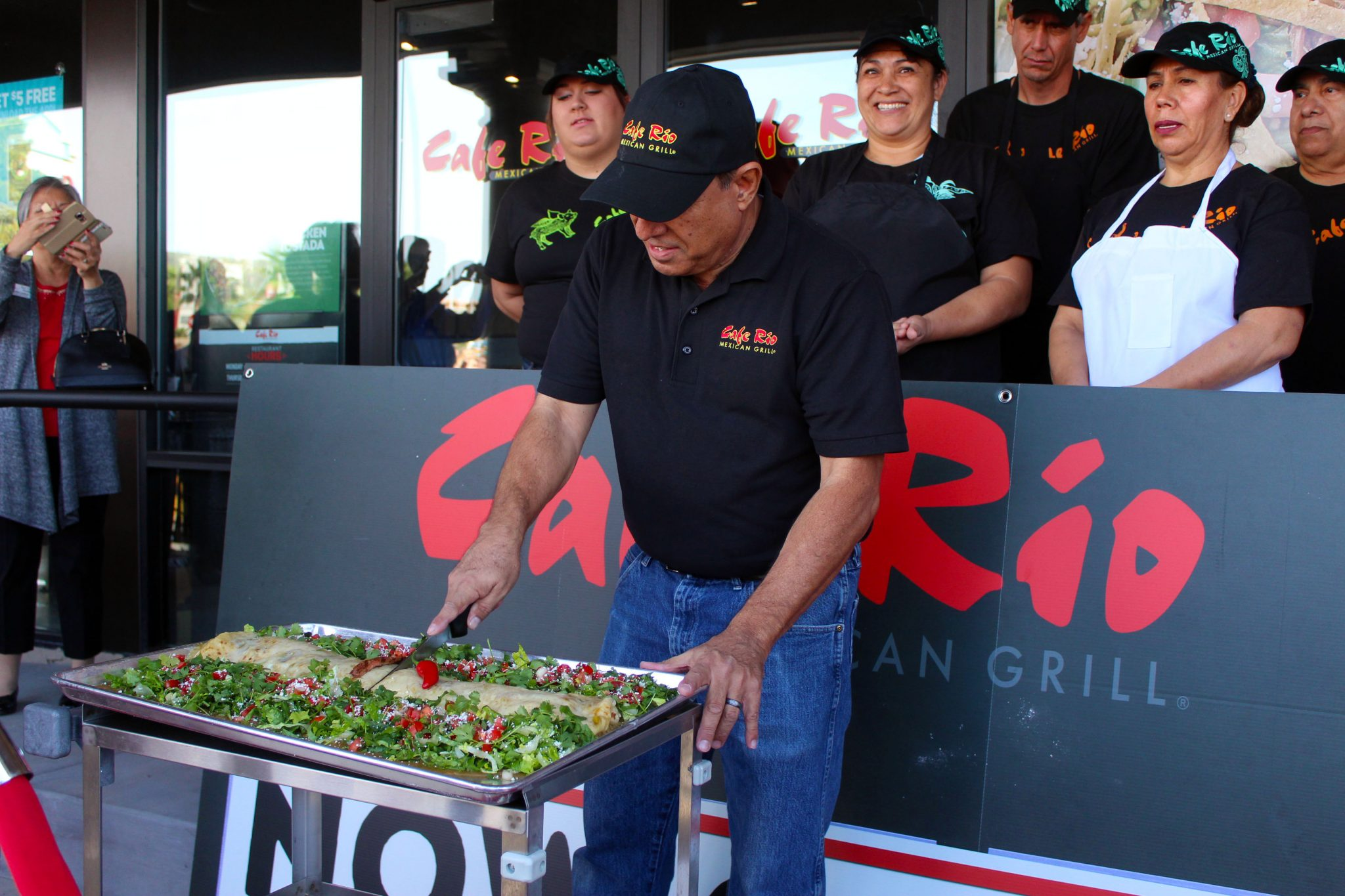 Cafe Rio Opens in Mesquite