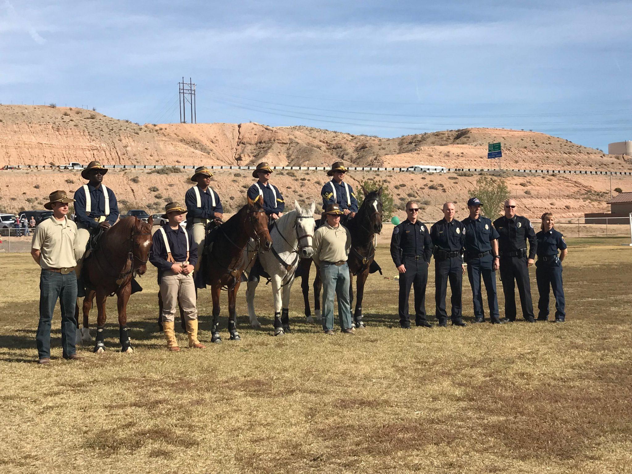 Mesquite Police honor Veterans