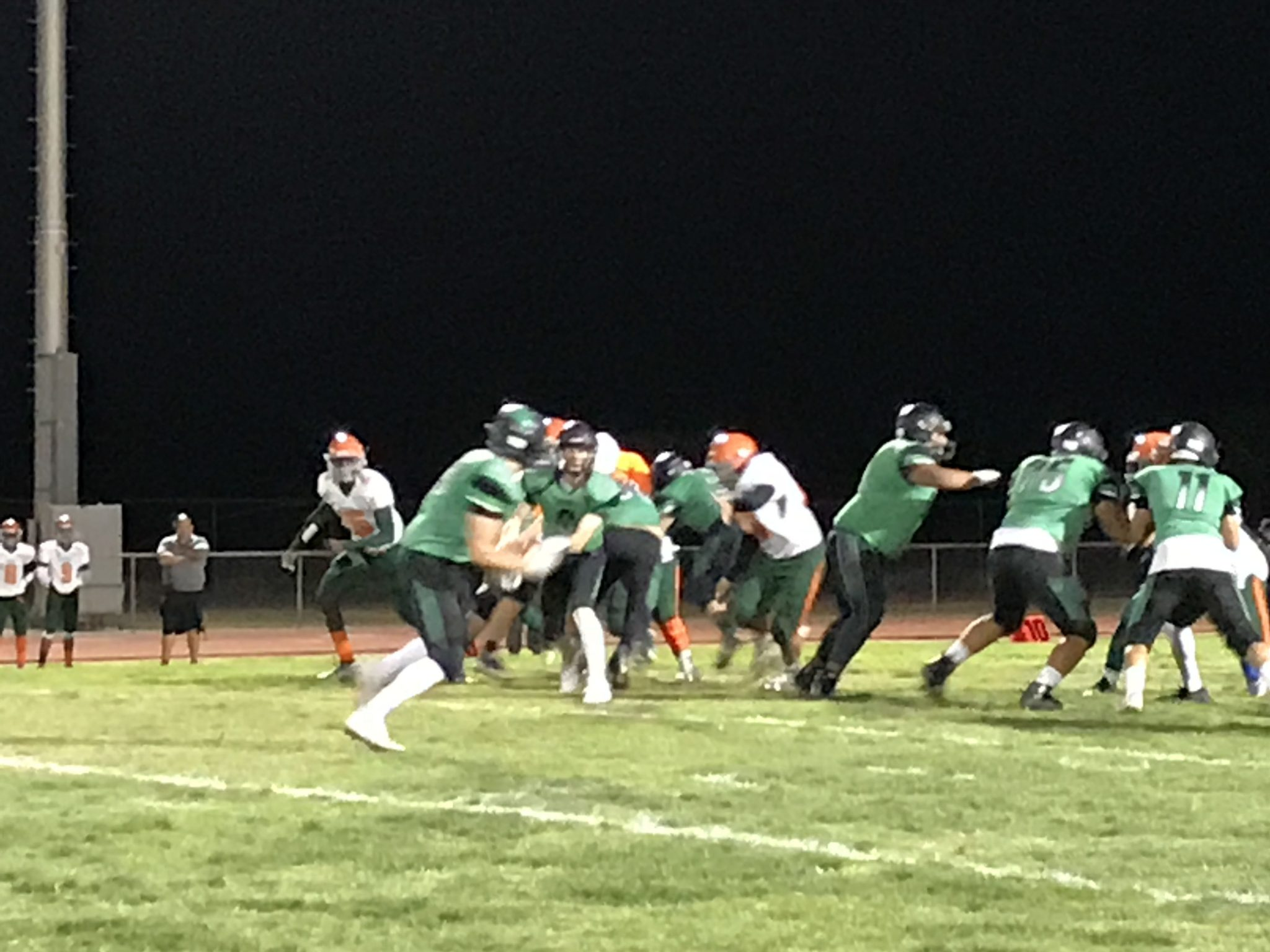 Rattlers big plays bite Bulldogs 46-20 end title hopes