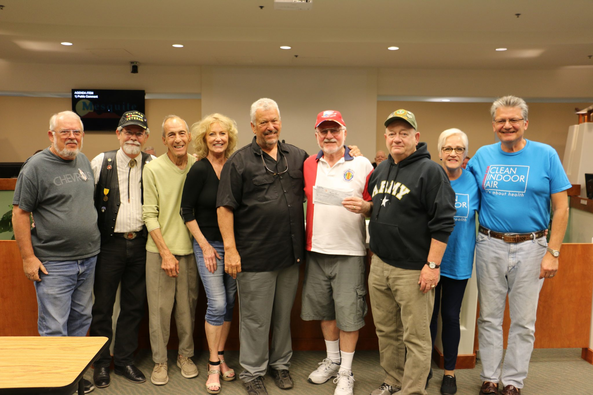 Veteran Center donation