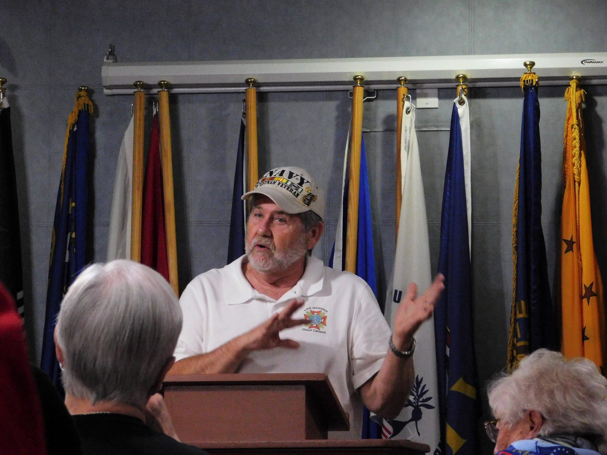 Mesquite Republican Women's Club Honor Veterans