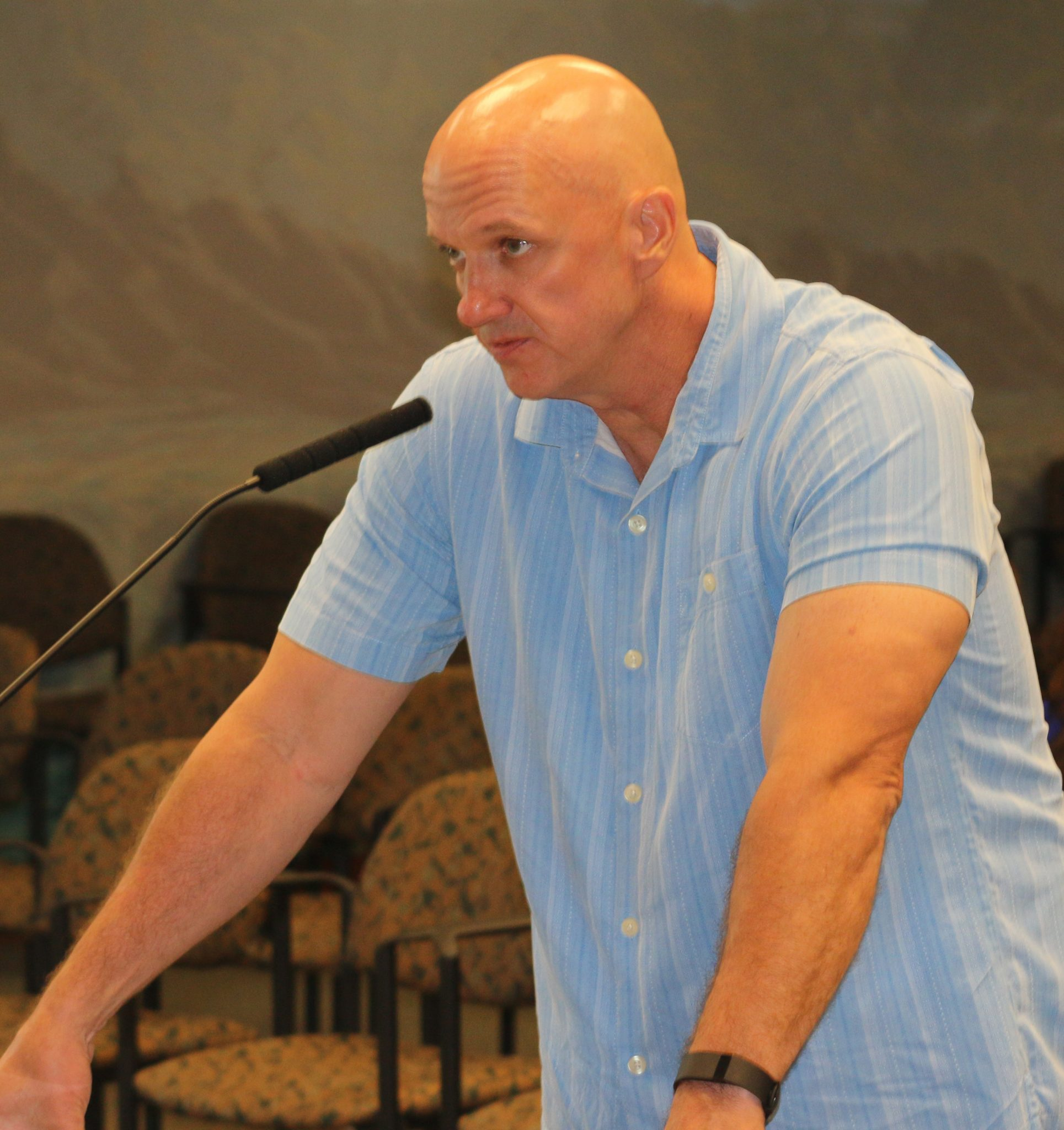 City settles with former fire chief amid fireworks