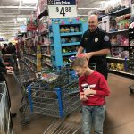 Christmas means shopping with cops