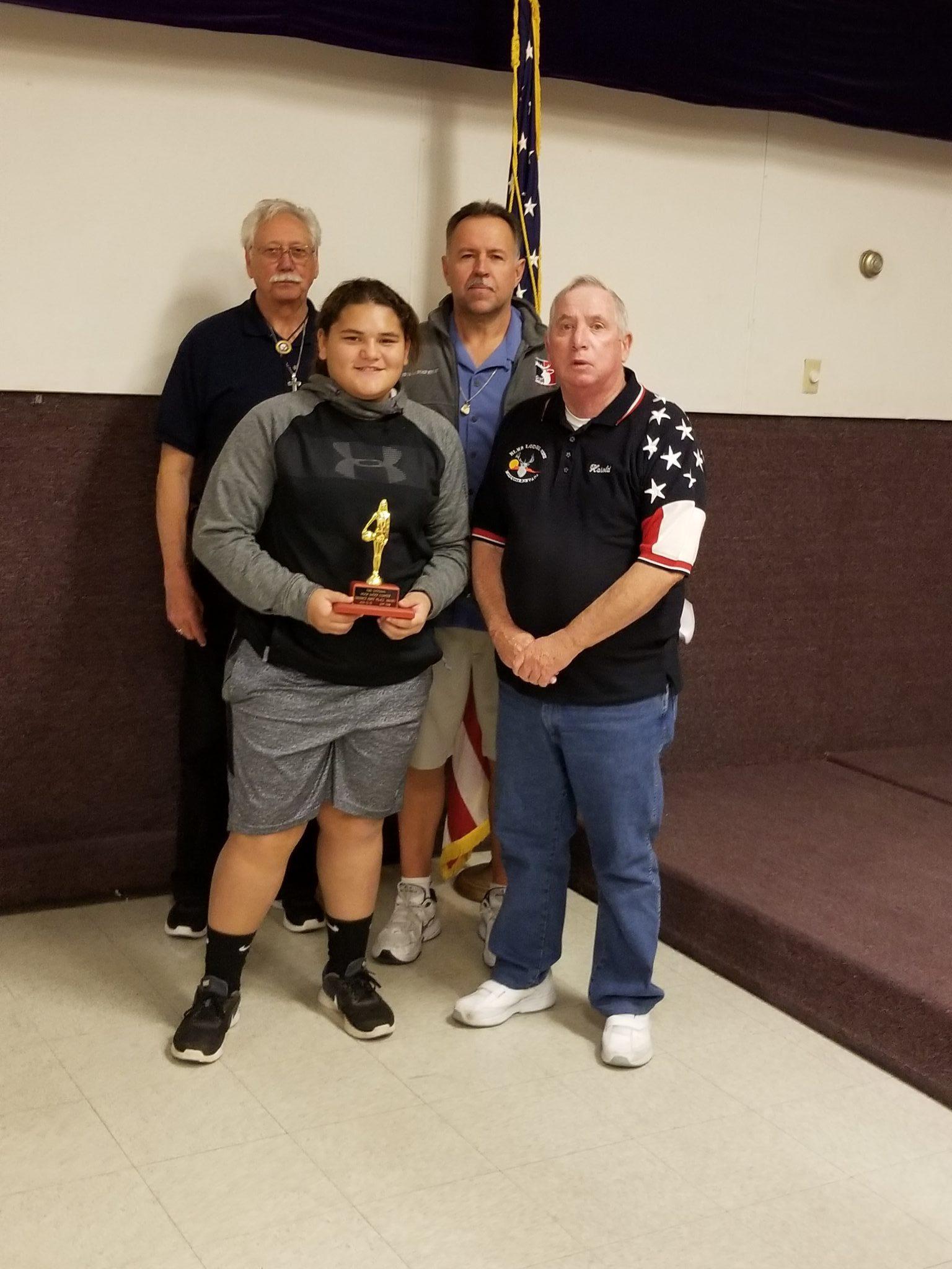 Victoria Tausinga advances to Nevada Elks State Hoop Championship