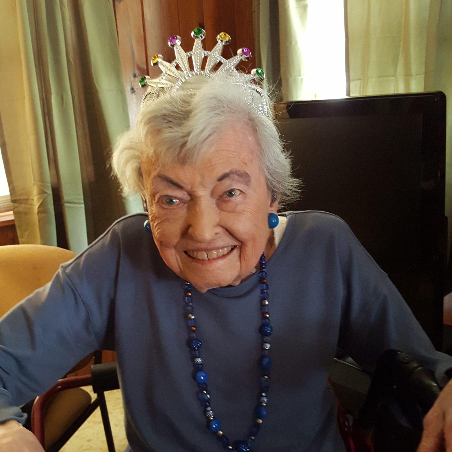 Former Mesquite resident celebrates 100th birthday
