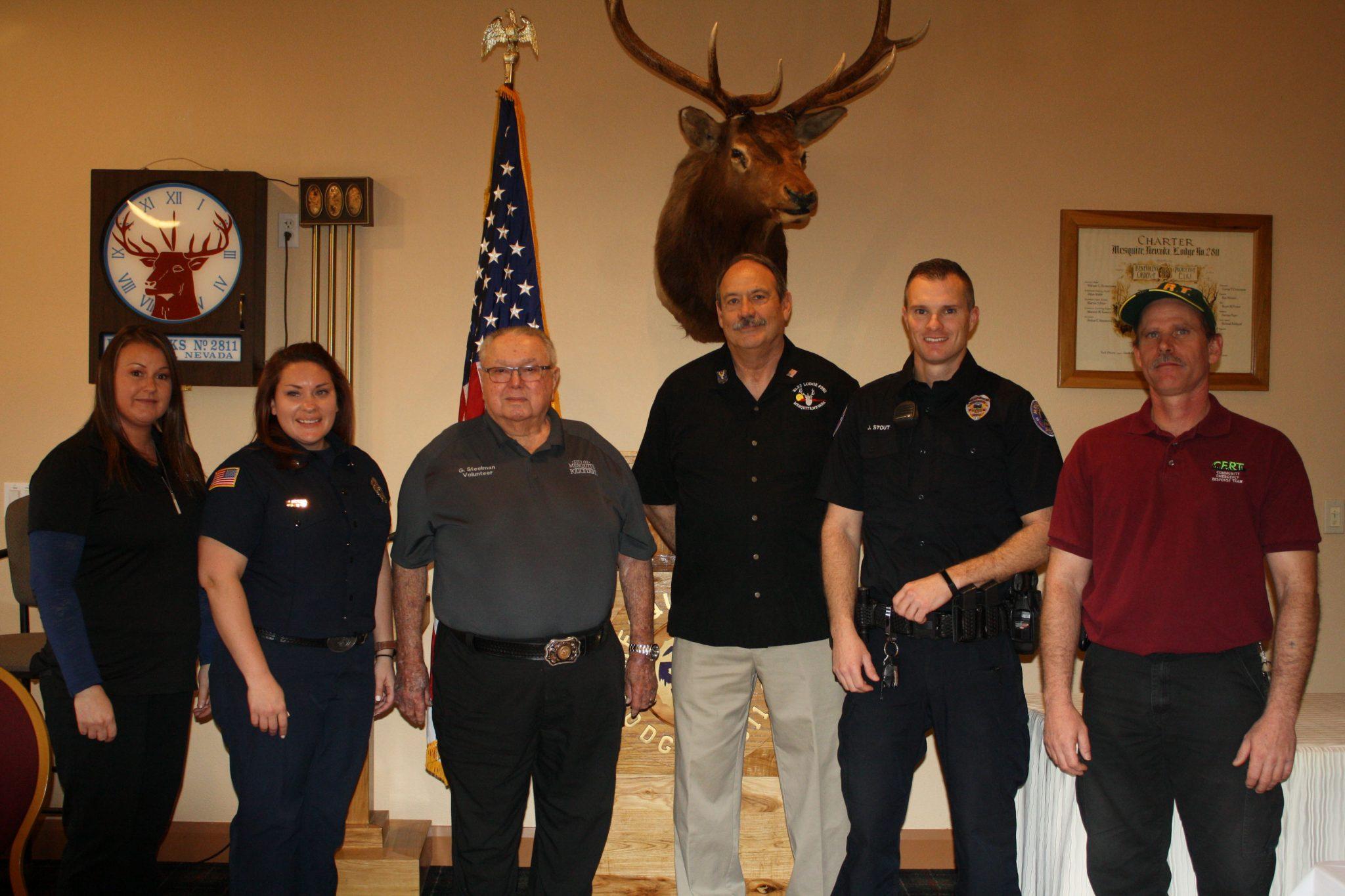 Mesquite Elks Lodge honor 'First Responders'