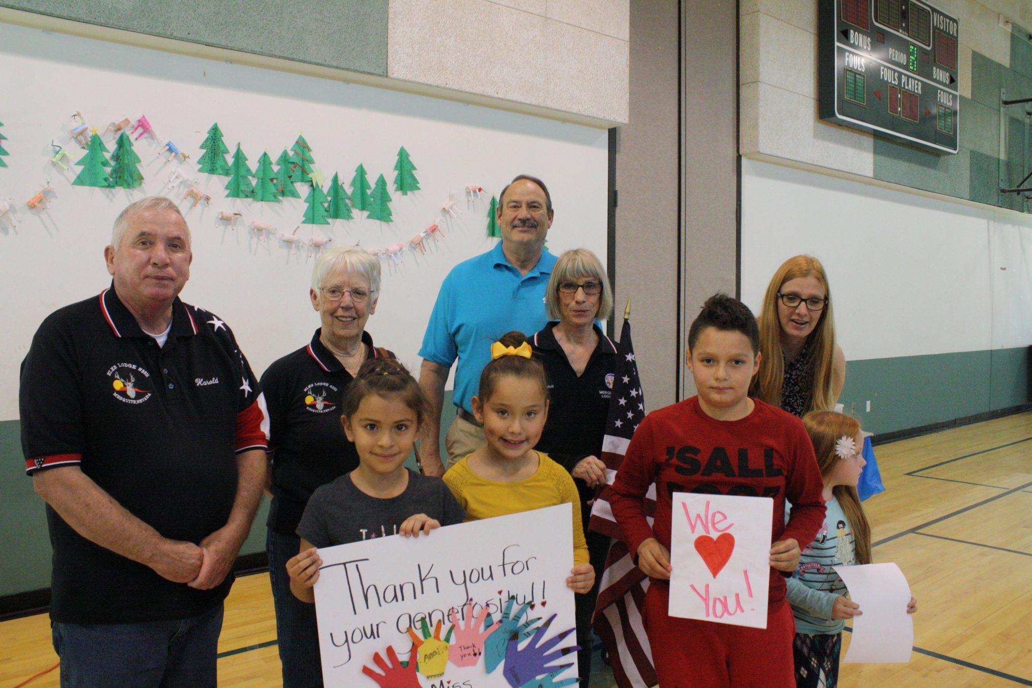 Mesquite Elks donate to Beaver Dam Schools