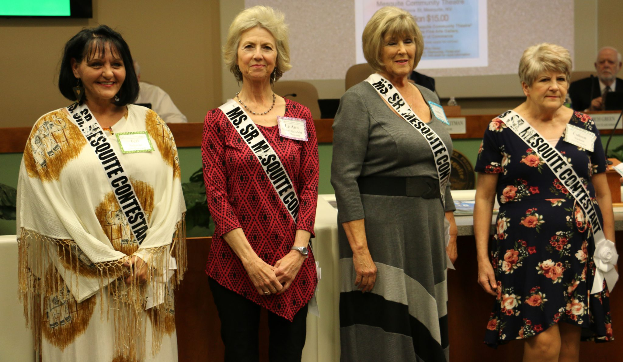Ms. Senior Mesquite Contestants
