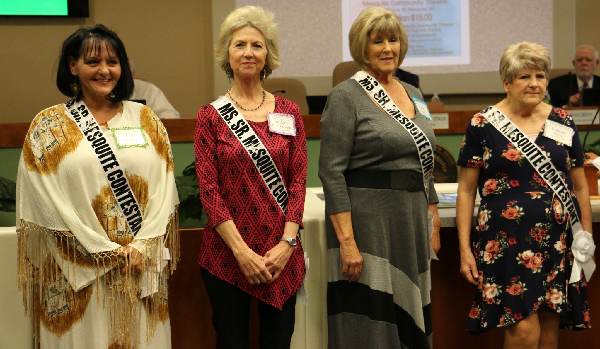 Ms. Senior Mesquite Contestants