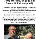 McFall's Search Party-Volunteers desperately needed and wanted.