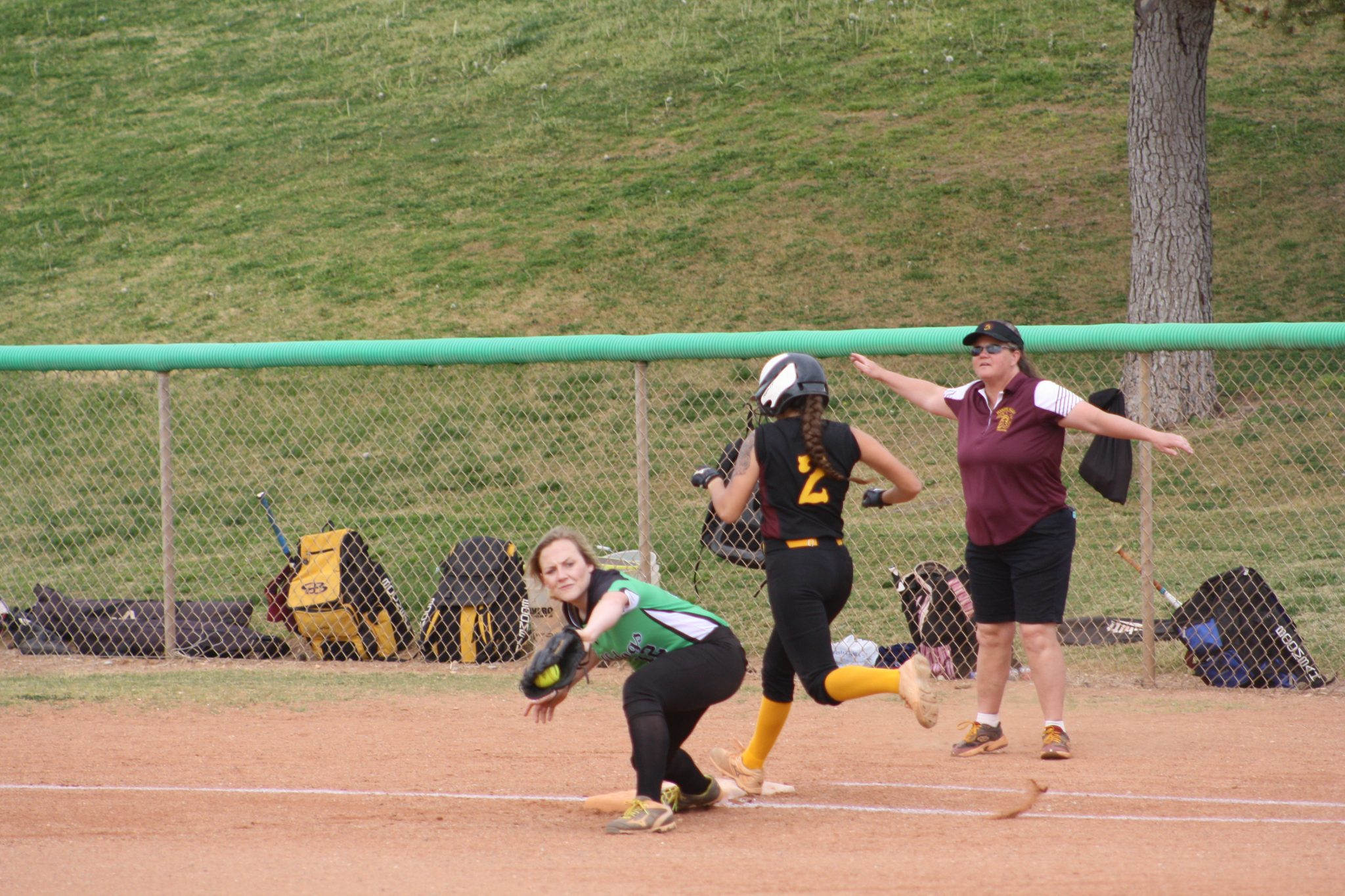 Trojans shut down Lady Dogs 10-0