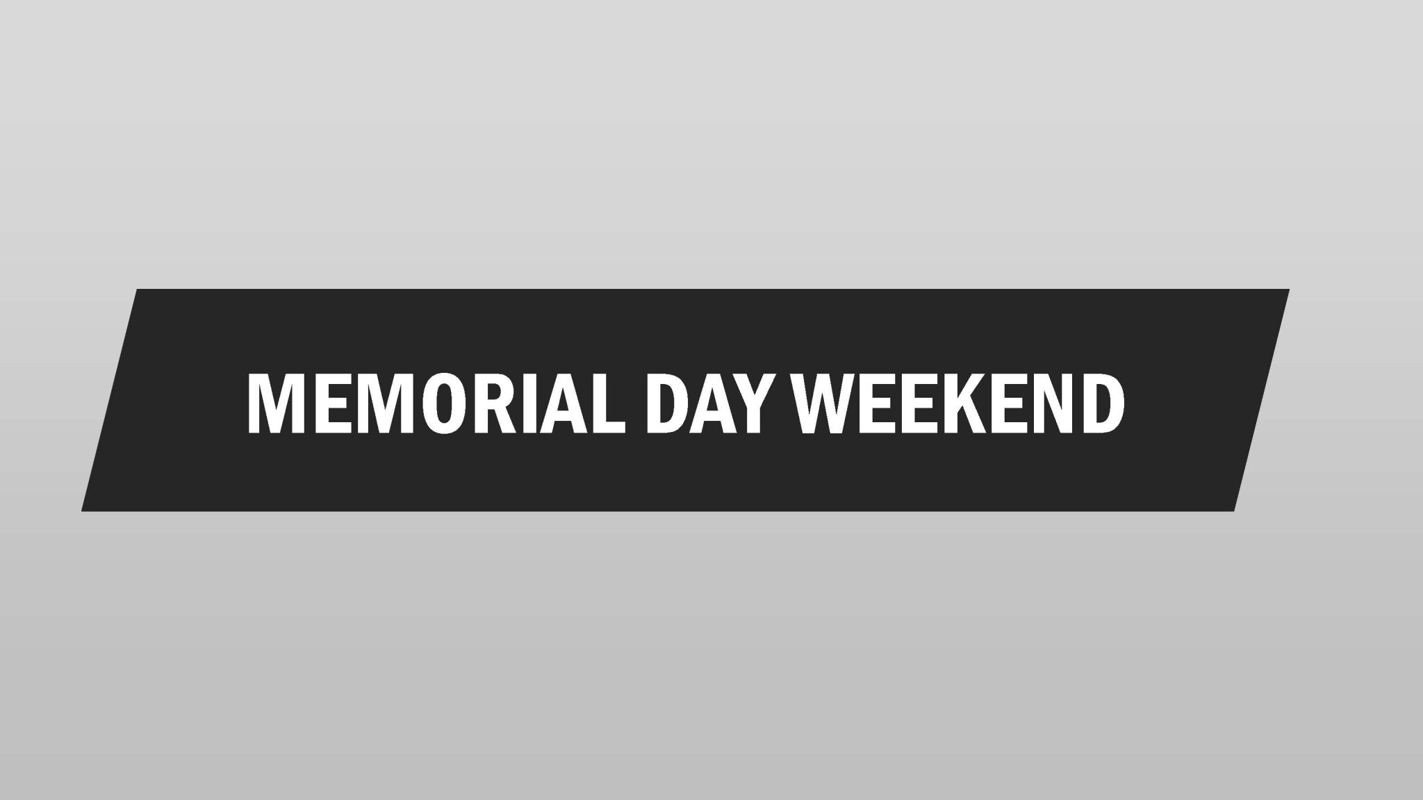 Memorial Day Weekend Weather Forcast