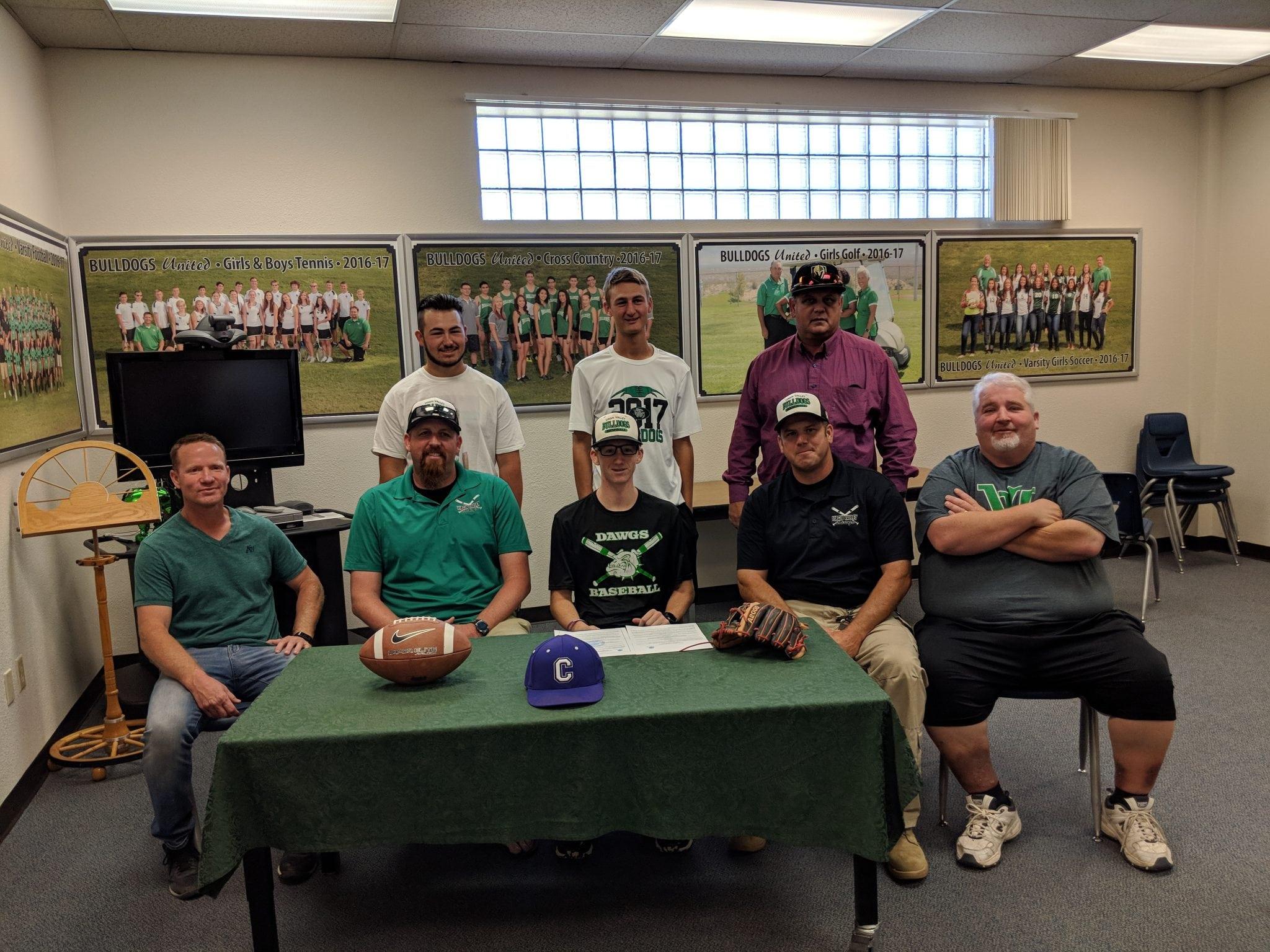 Jensen signs with Iowa school