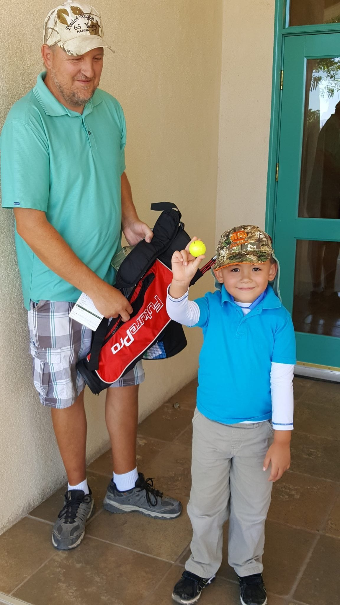 Junior golfers play tournament series