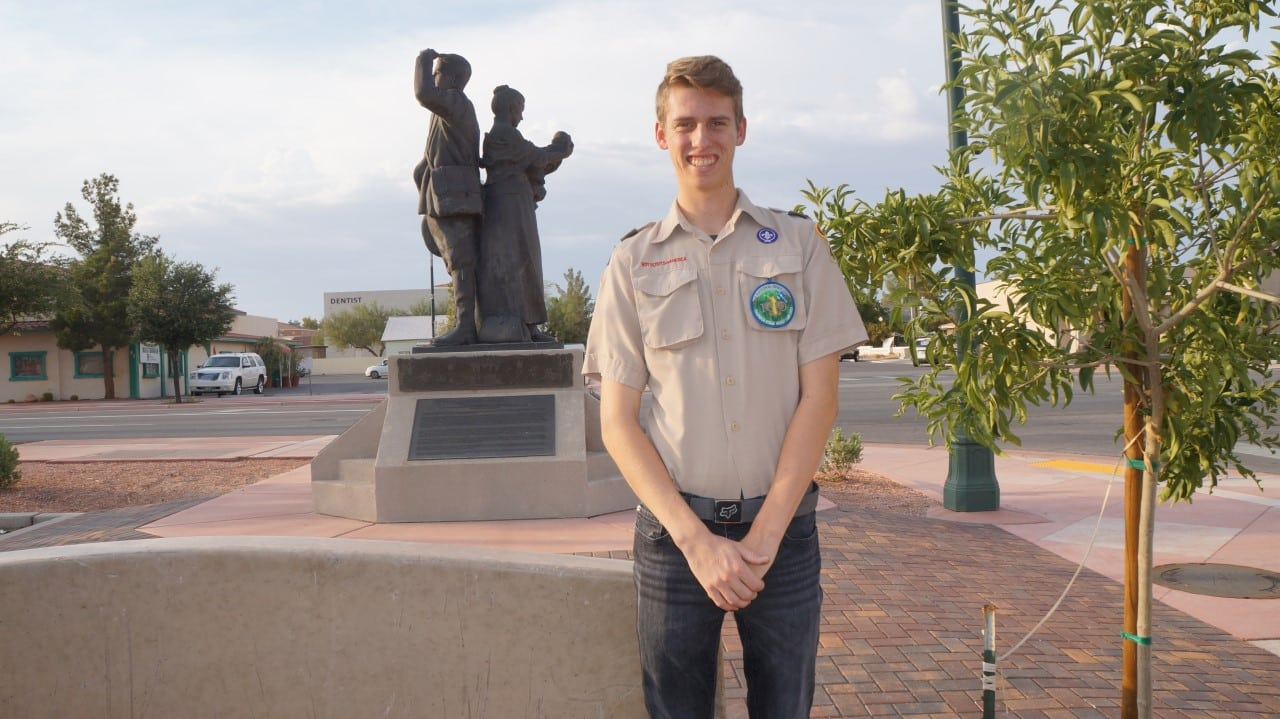Eagle Scout Nathan Cannon
