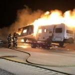 I-15 Semi Truck Fire