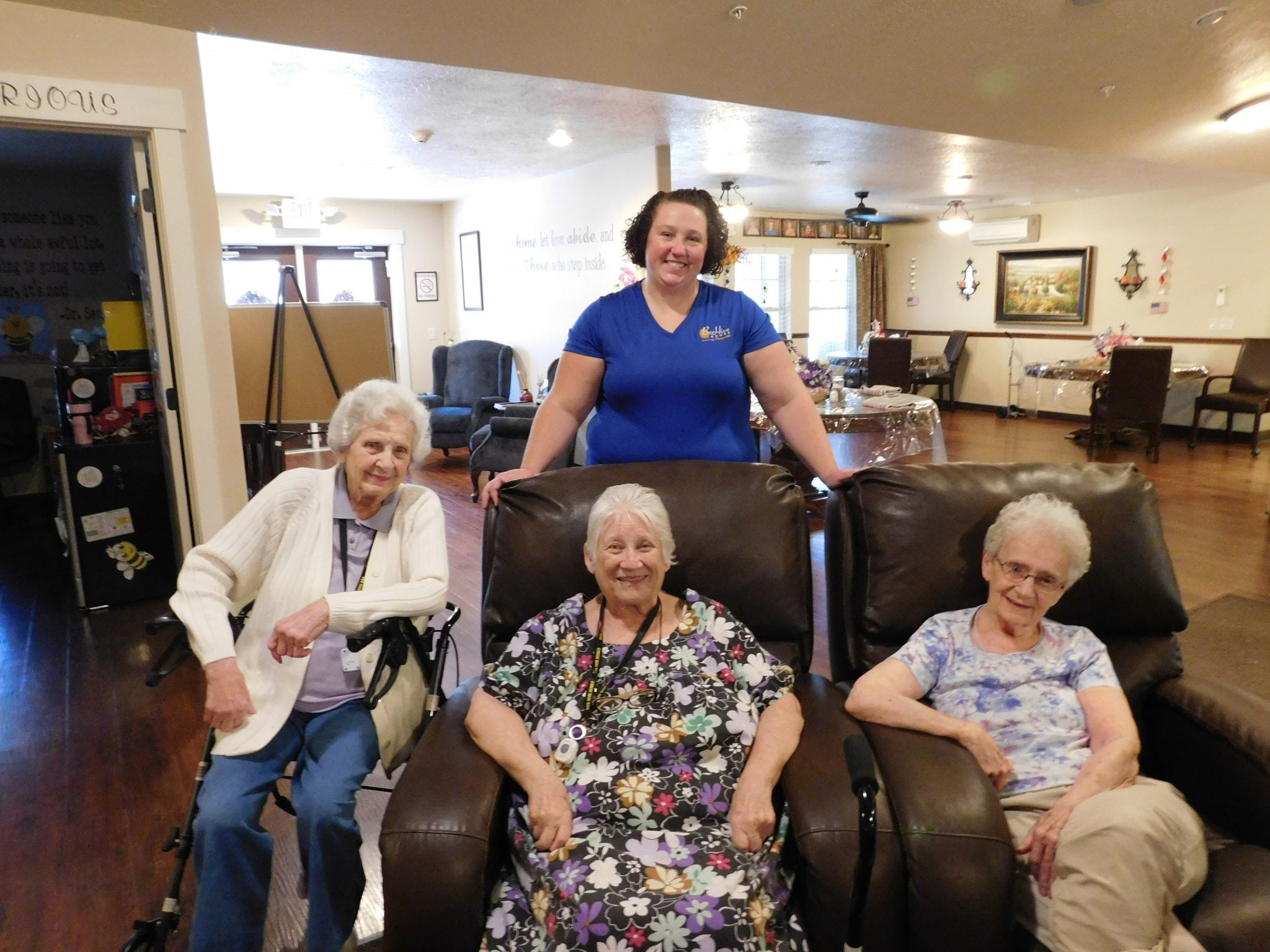 """Assisted living facilities celebrate """"Christmas in July"""""""