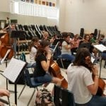 "VVHS Musicians Tune Up for September 18 ""Bella Notte"""