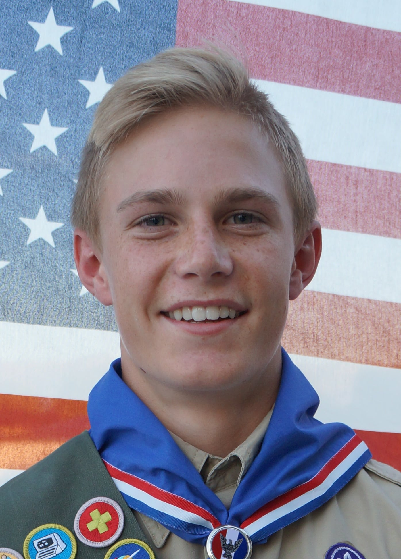 Ashten Roman received his Eagle Scout Award
