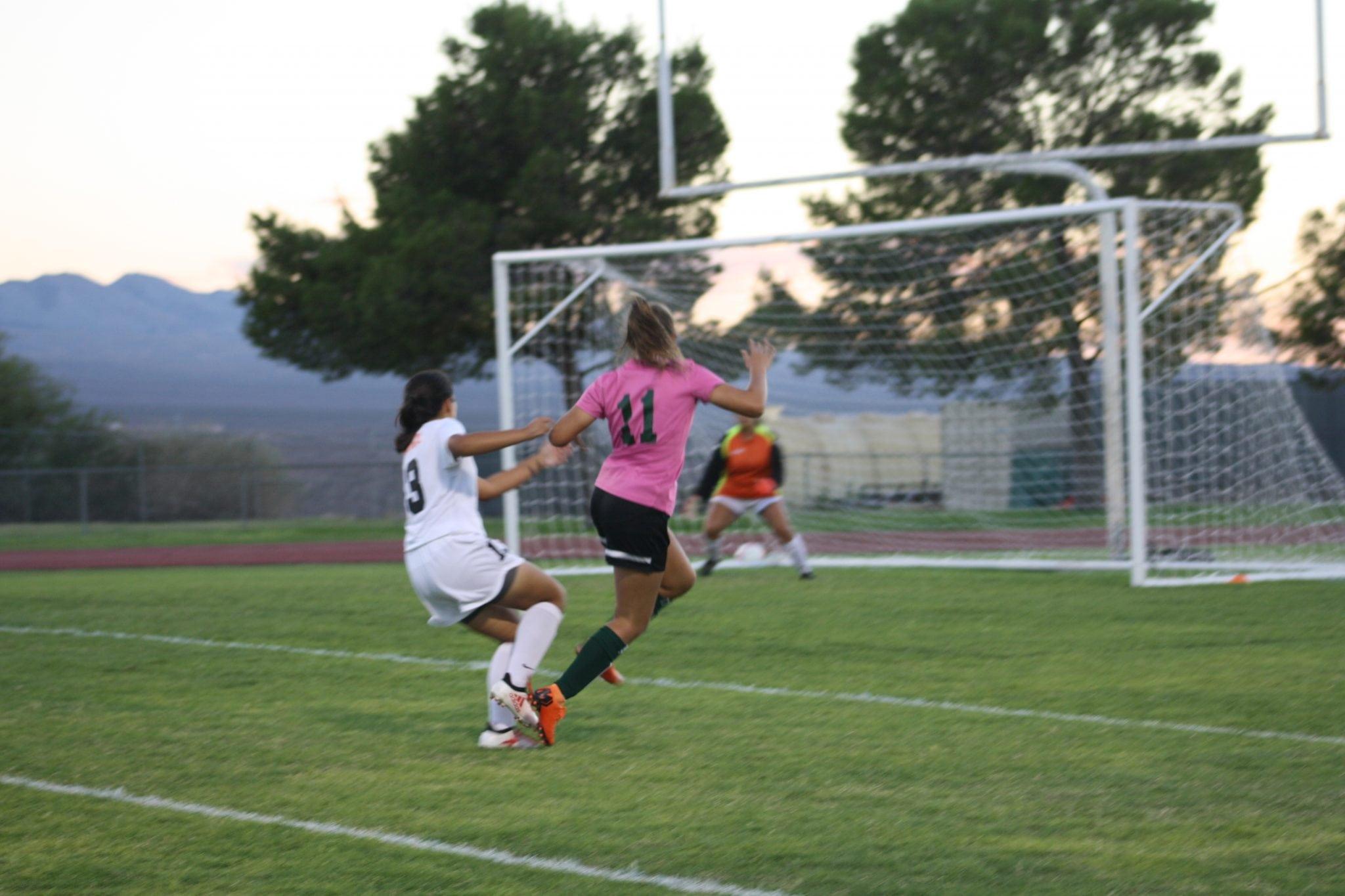 Bulldog soccer gal's offense on a roll