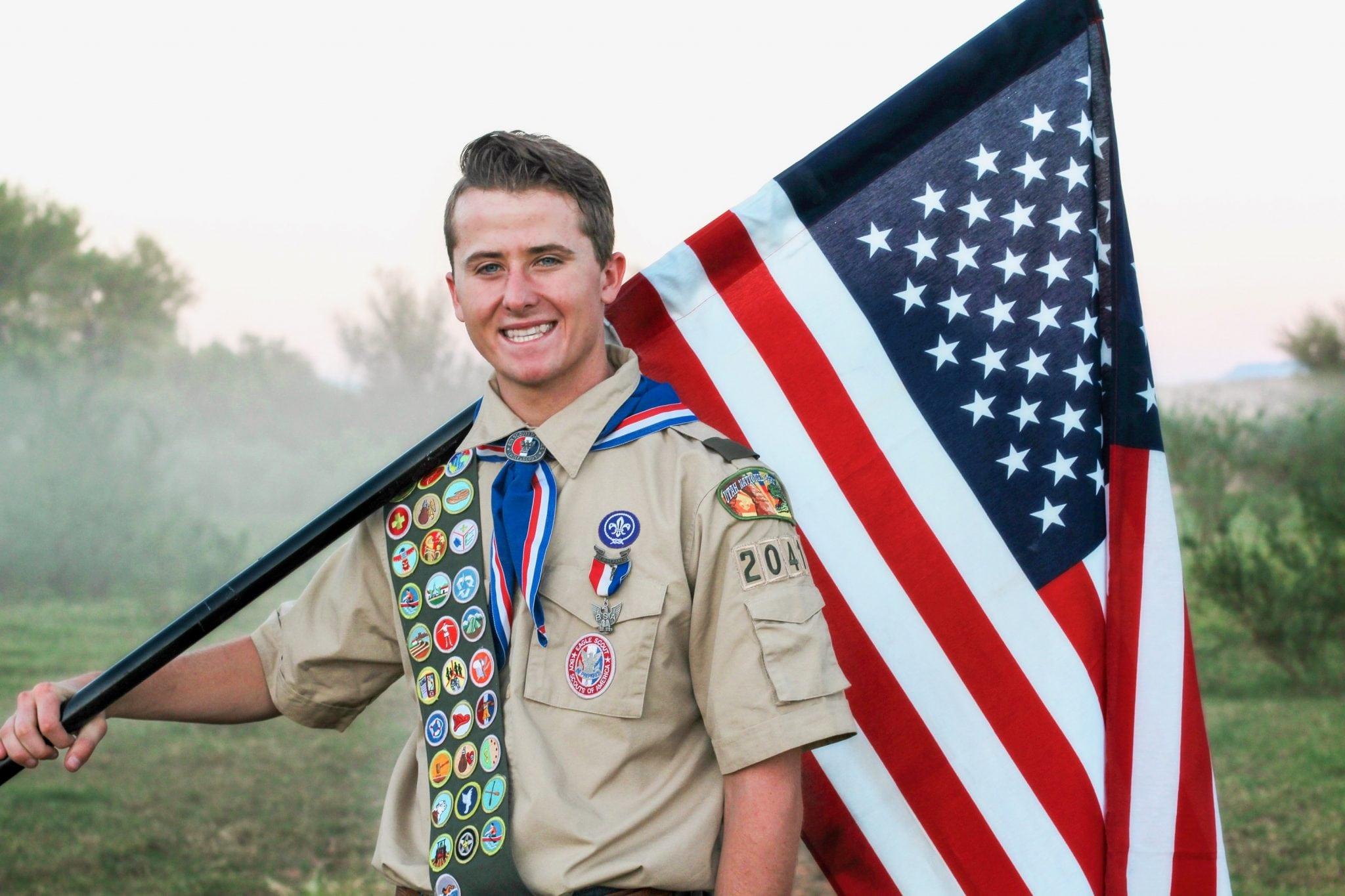 Trey Fred Houston Eagle Scout Award