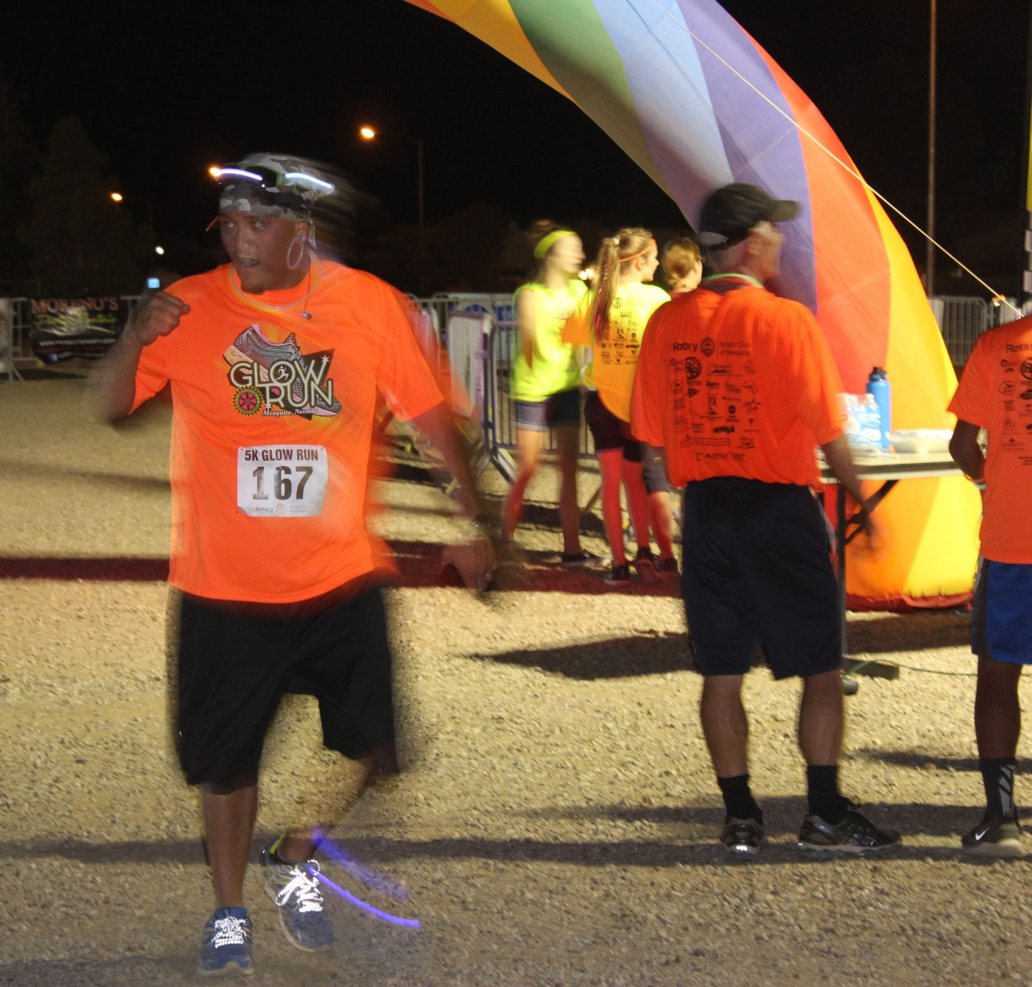3rd ANNUAL GLOW FUN-RUN 5K