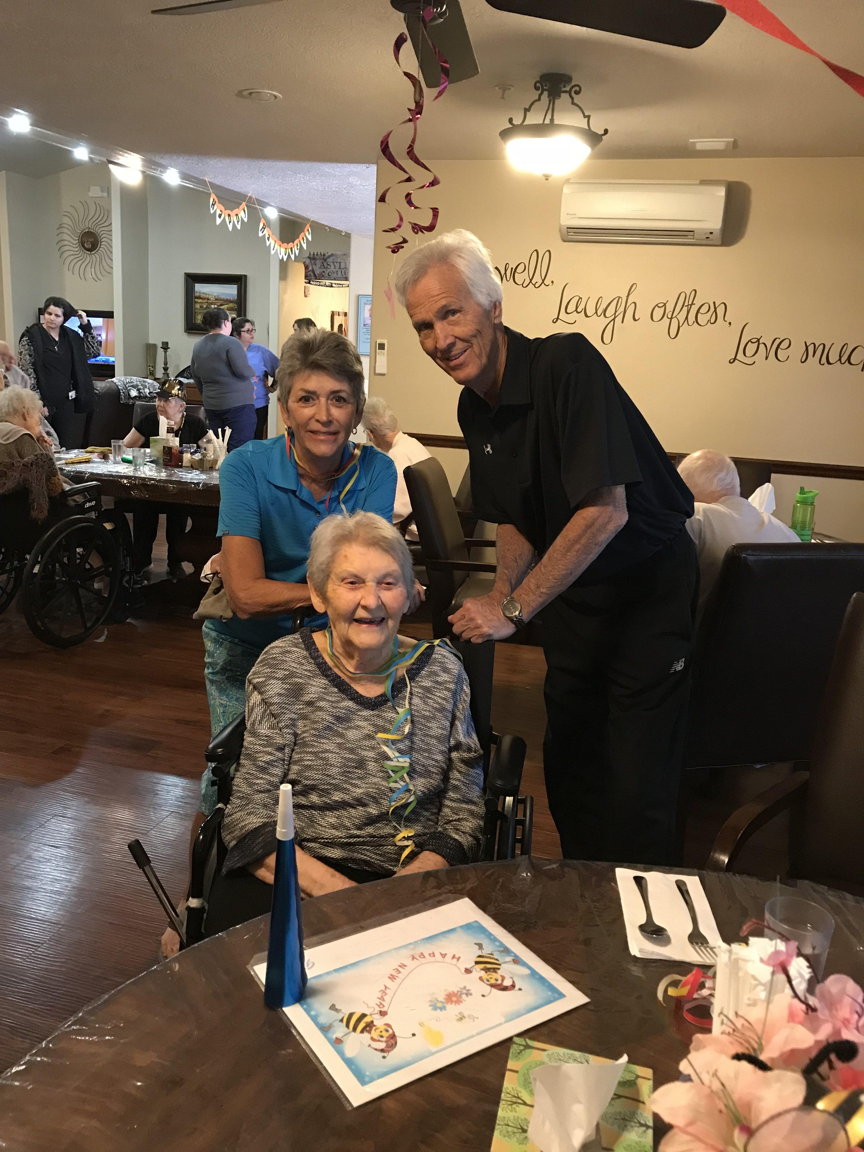 Mary Hilla turns 99