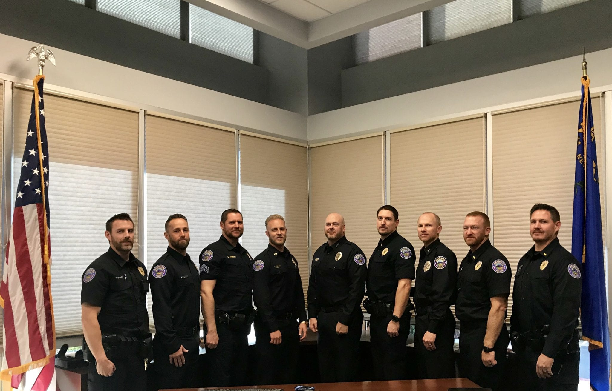 Mesquite Police No Shave November Fundraiser Comes to a Finish
