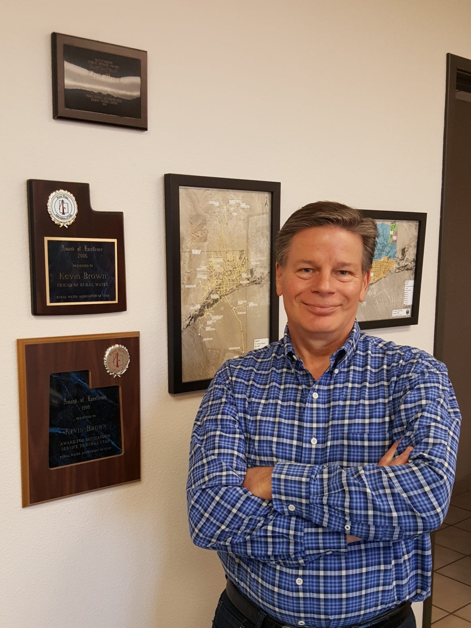 Brown earns high marks for leadership of Virgin Valley Water District