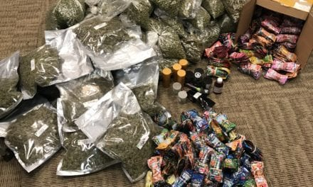 Mesquite Police Arrest Suspects Transporting Large Amounts of Illegal Marijuana