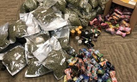 Mesquite Police Arrest Suspects Transporting Large Amounts of Illegal Marijuana