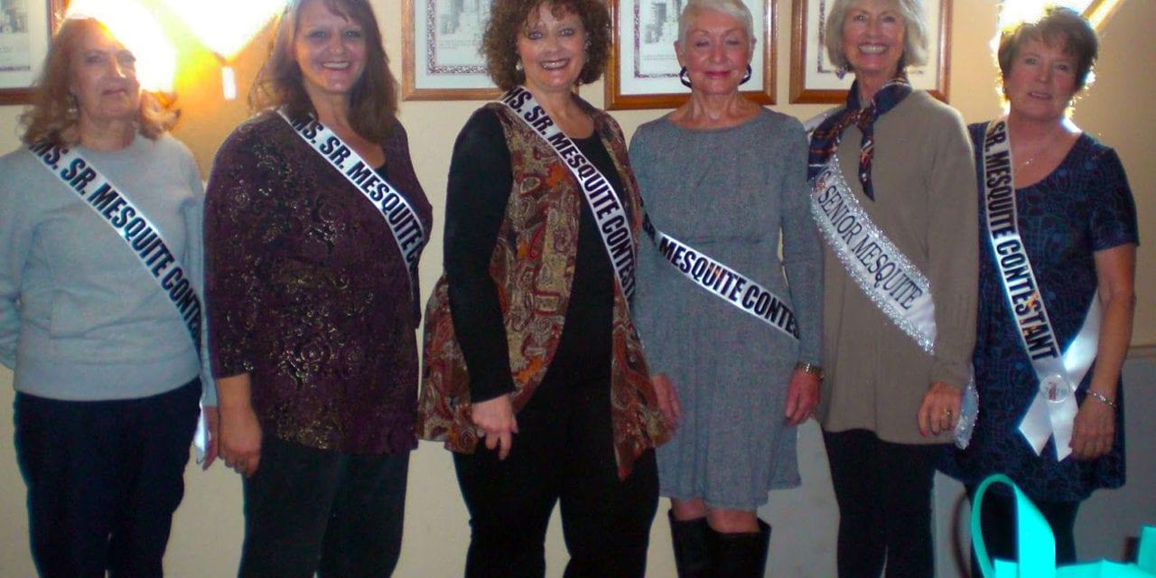 2019 Ms. Senior Mesquite Contestants