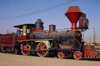 Nevada's first and second train robbery