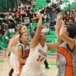 Lady Dogs upset by Cowboys 40-39