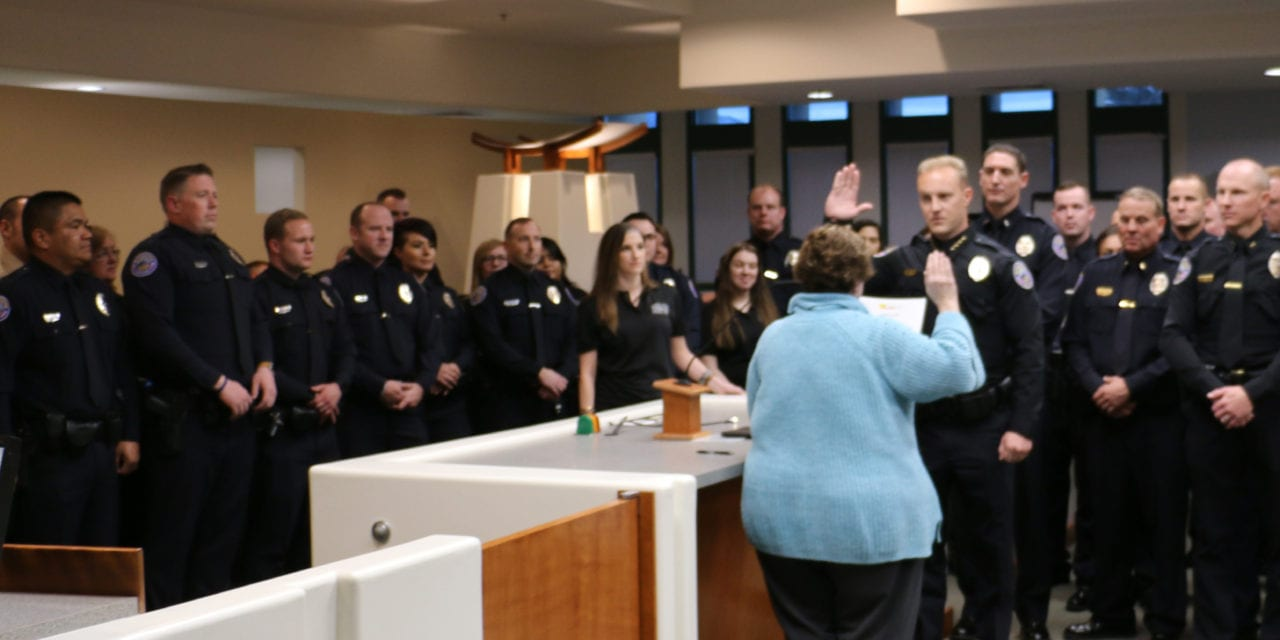 New Police Chief sworn in