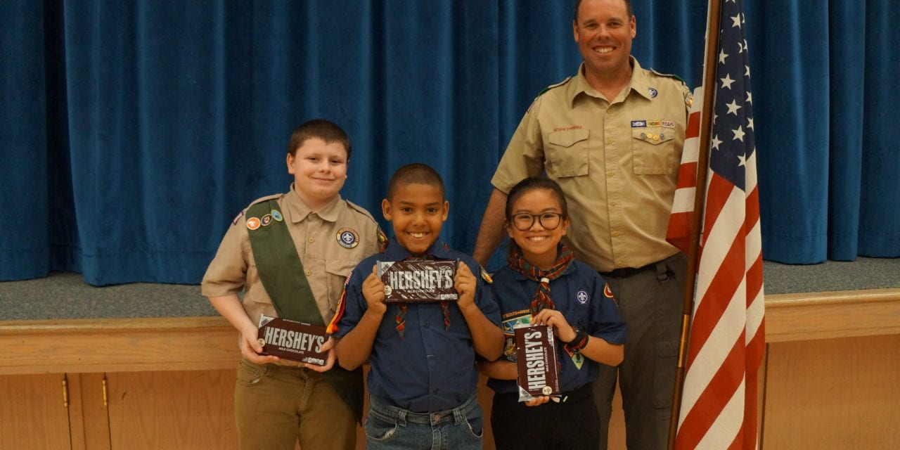 The annual Scout Leader Recognition Dinner